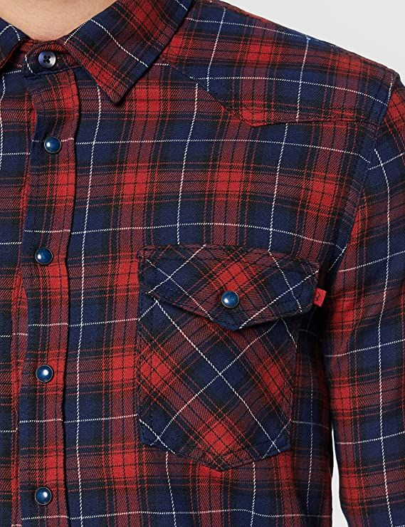 LTB Rohan Shirt - Red - MitchellMcCabe