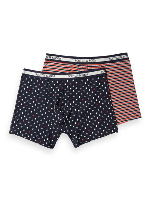 Scotch and Soda Classic Boxer Shorts - Stripes and Spots - MitchellMcCabe