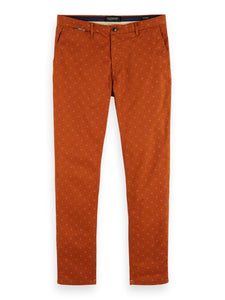 Scotch and Soda Mott Chino in All Over Print - Combo 219 - MitchellMcCabe