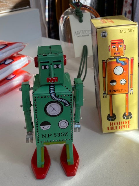 Lilliput Robot - Blue