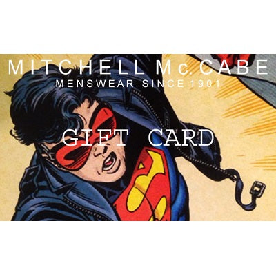 Gift Card - Mitchell McCabe Menswear