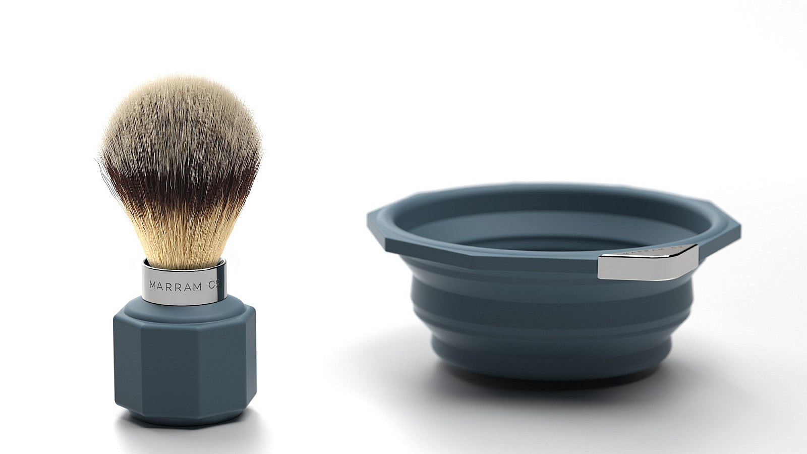 Marram Pop Shave Set - Blue - MitchellMcCabe
