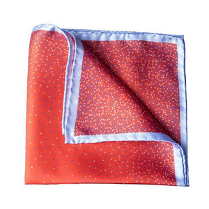 Italian Silk Pocket Squares - Red - Mitchell McCabe Menswear