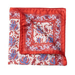 Load image into Gallery viewer, Italian Silk Pocket Squares - Red - Mitchell McCabe Menswear