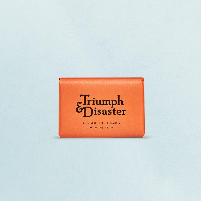 Triumph and Disaster A and R Soap - MitchellMcCabe