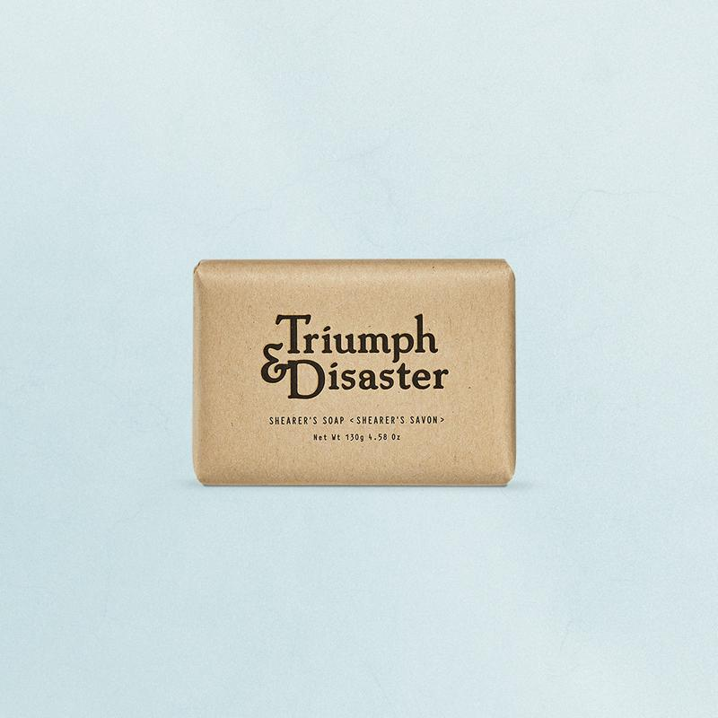 Triumph and Disaster Shearers Soap - MitchellMcCabe