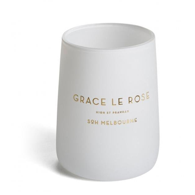 S.O.H Melbourne Grace Le Rose Candle - Mitchell McCabe Menswear