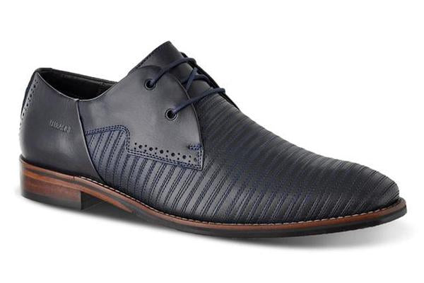 Ferracini Issah Dress Shoe - Navy - MitchellMcCabe