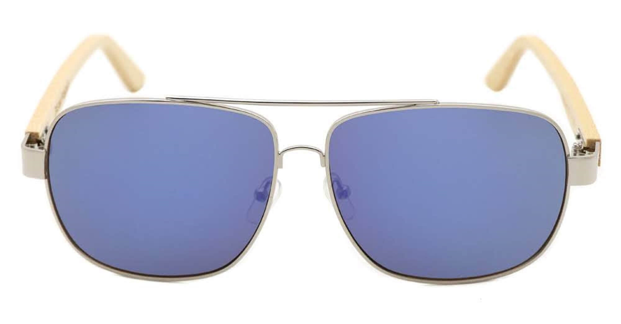 Blue Bamboo Aviators