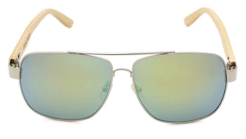 Yellow Bamboo Aviators