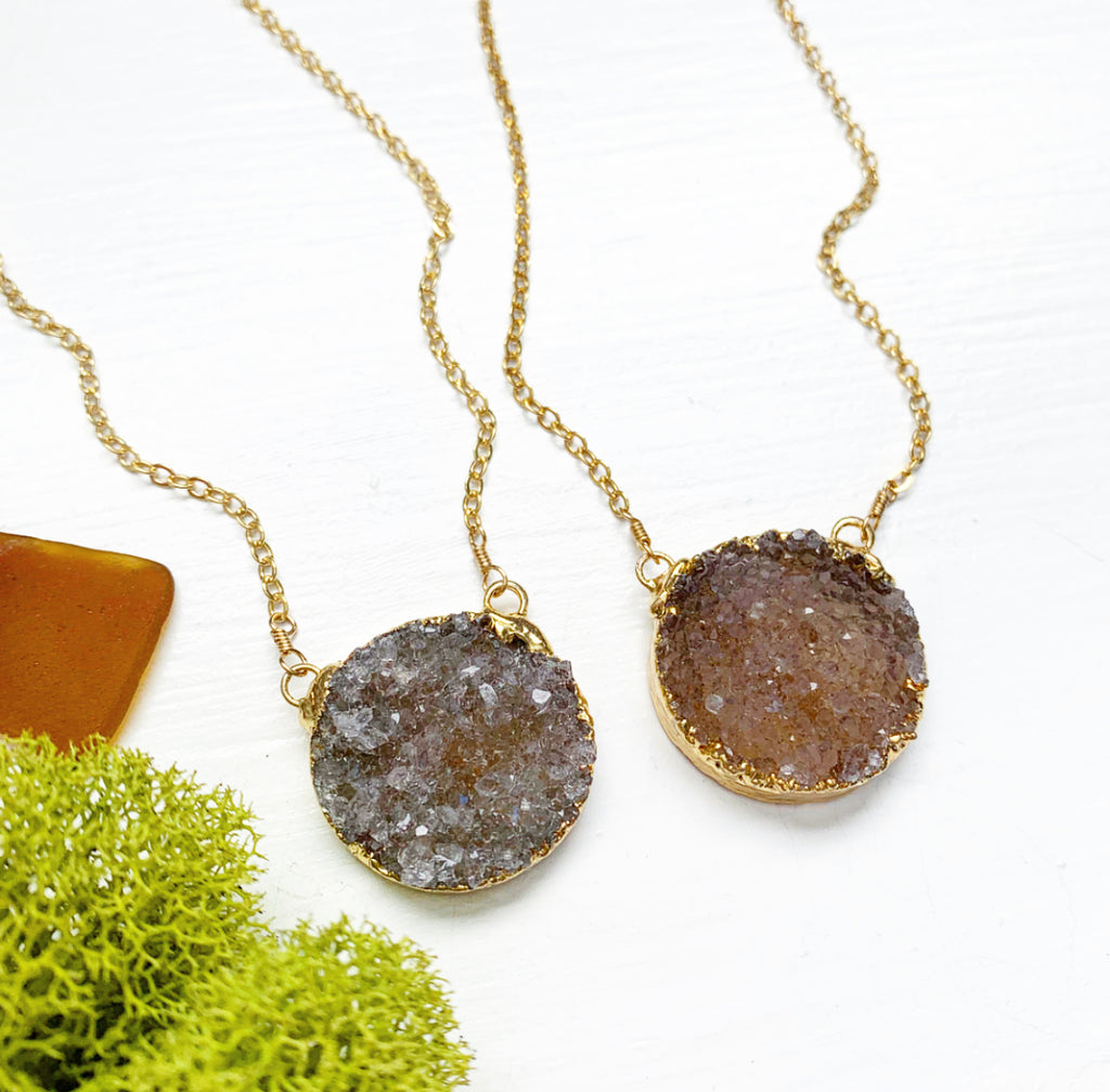 Gemstone of the Week - Druzy