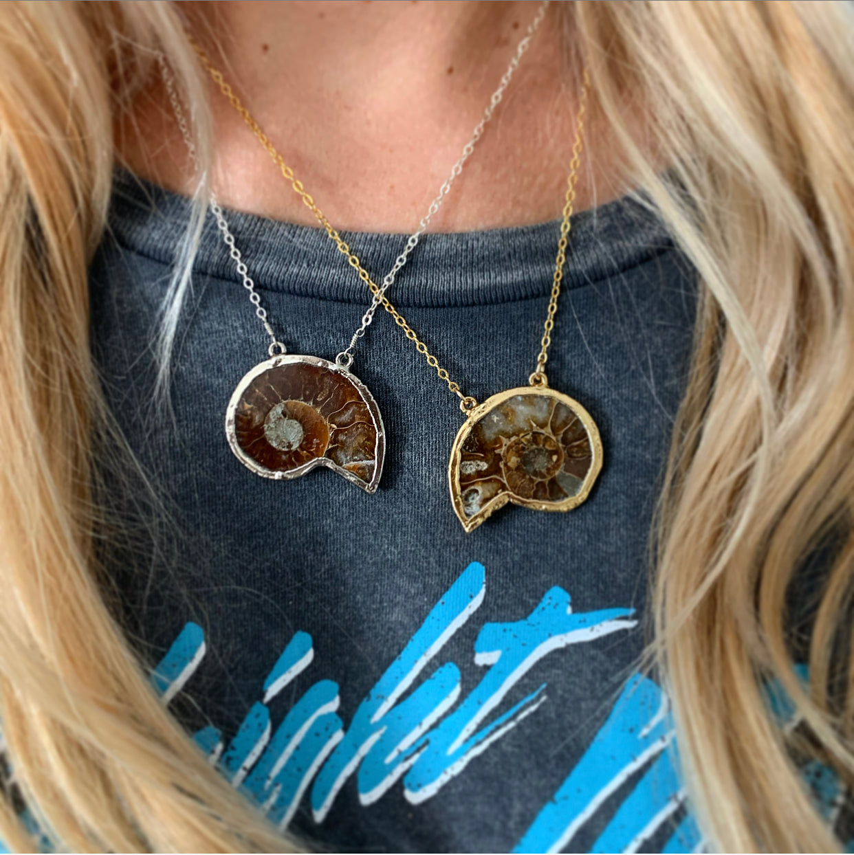 875 - Nautilus Shell Necklace
