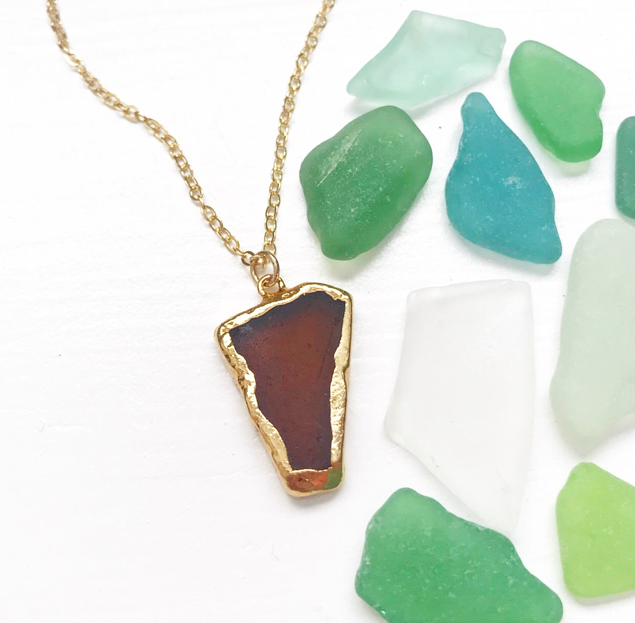 503-Seaglass Necklace