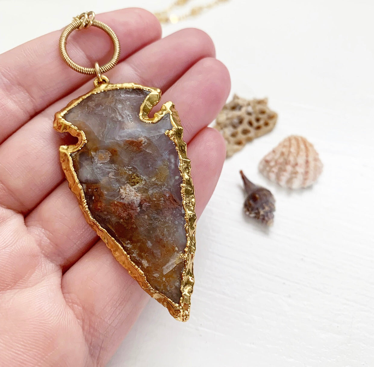 821-Arrowhead Necklace