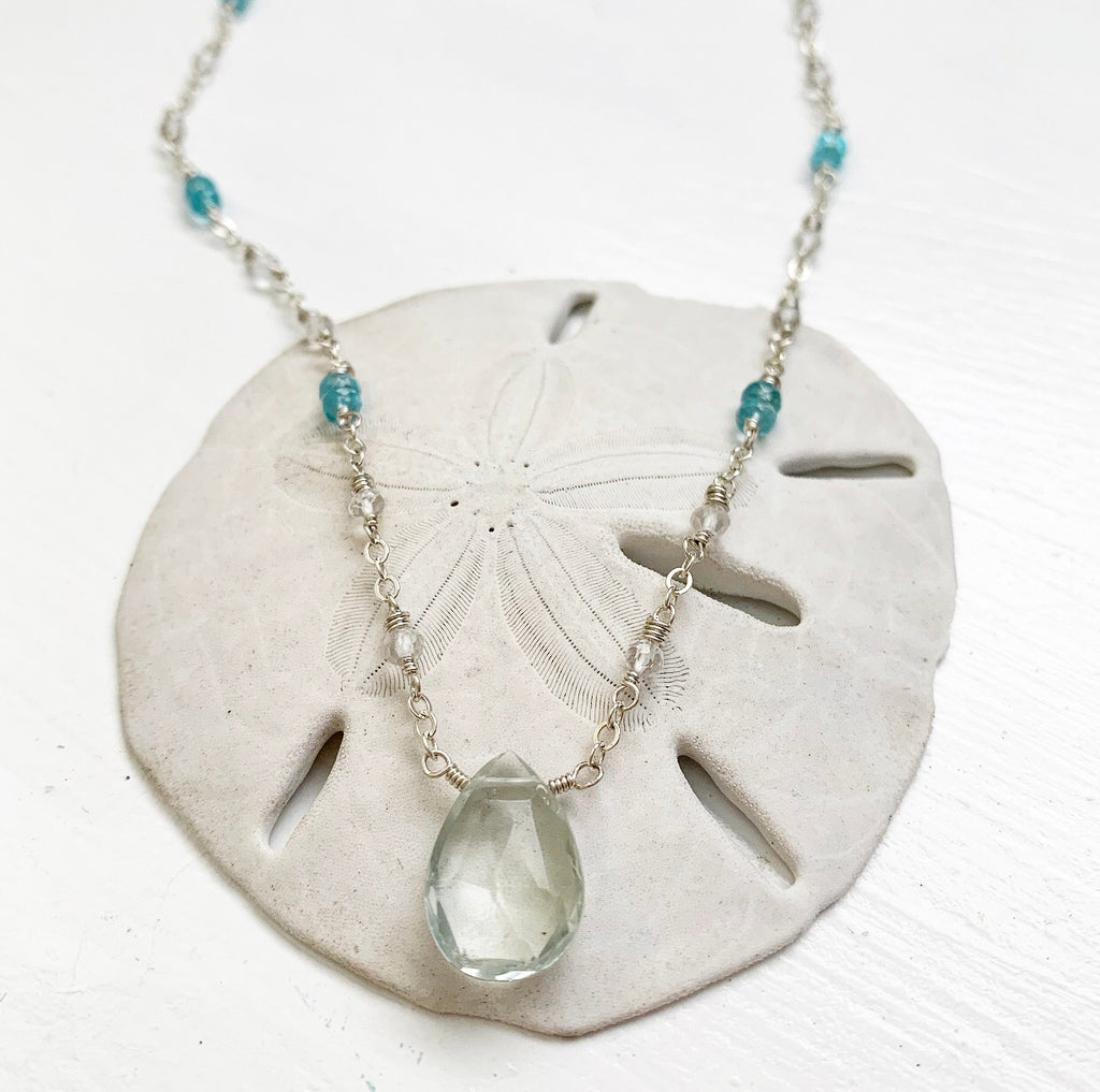 813-Gemstone Layering Necklace