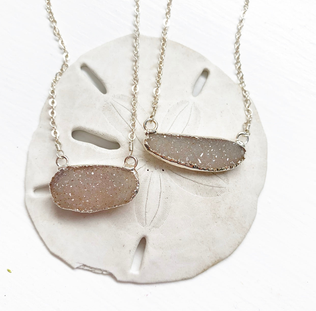 699-Druzy Necklace