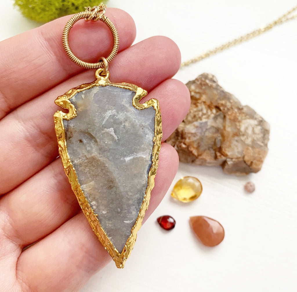 817-Arrowhead Necklace