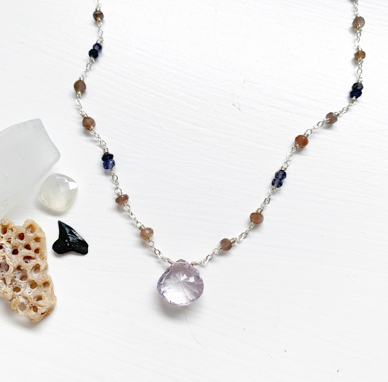 661-Gemstone Layering Necklace