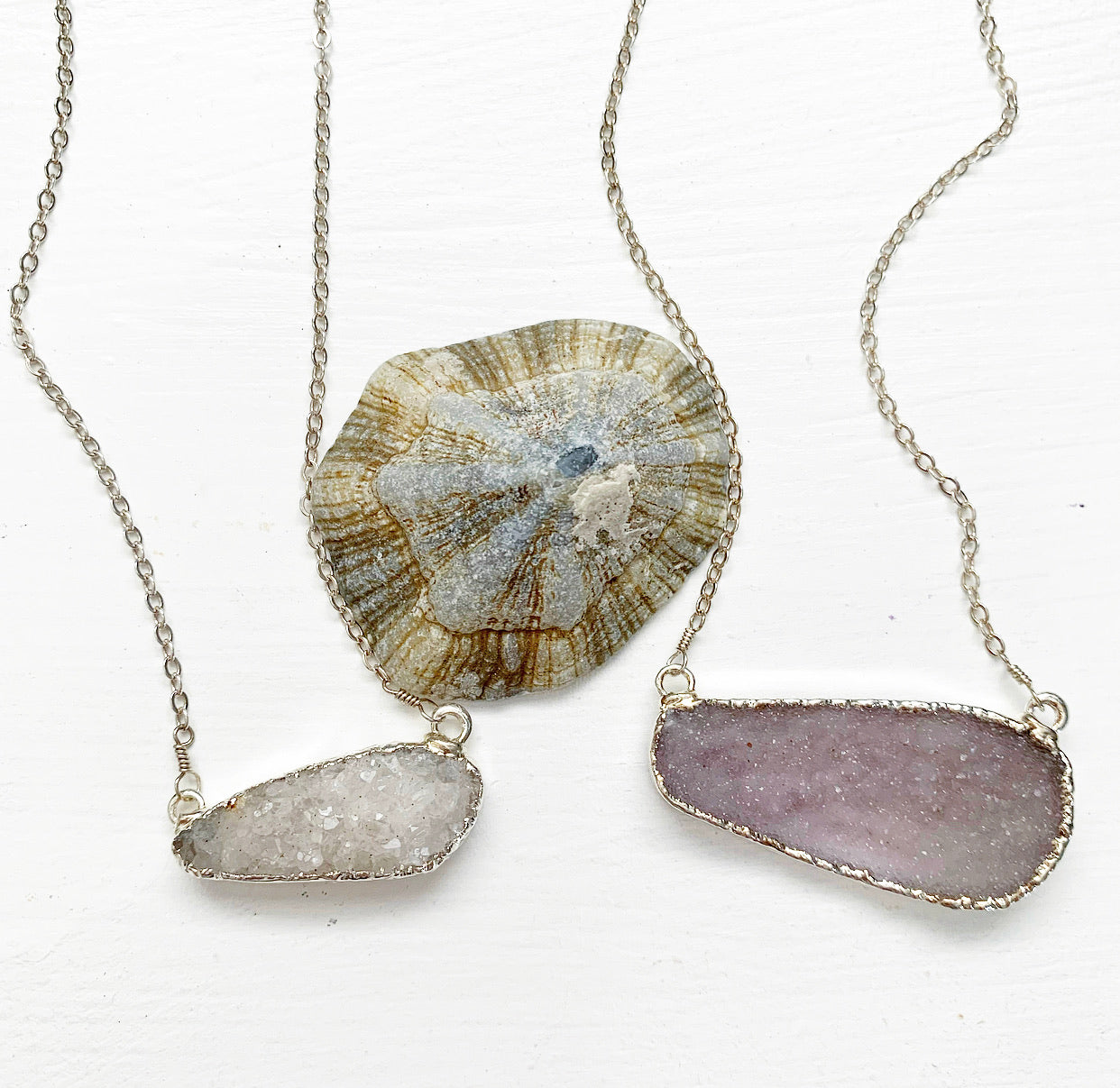 847-Druzy Necklace