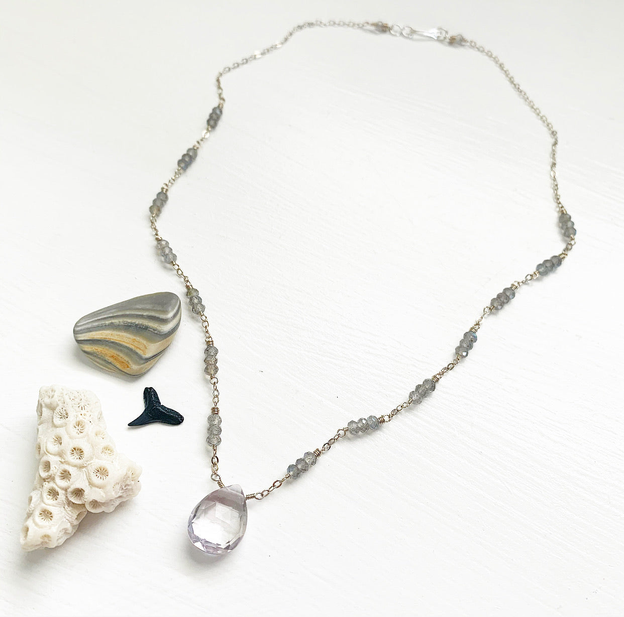 960-Gemstone Layering Necklace