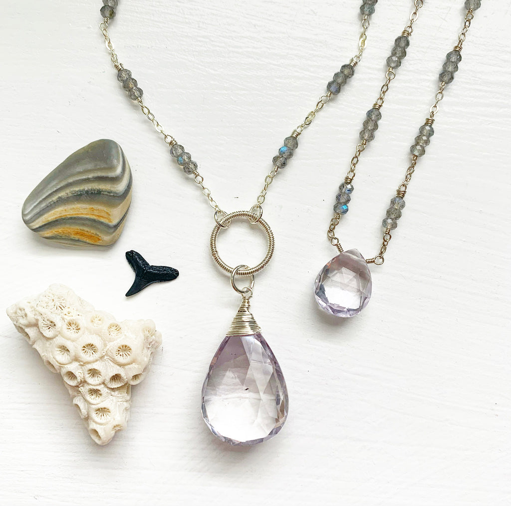 945-One of a Kind Gemstone Necklace