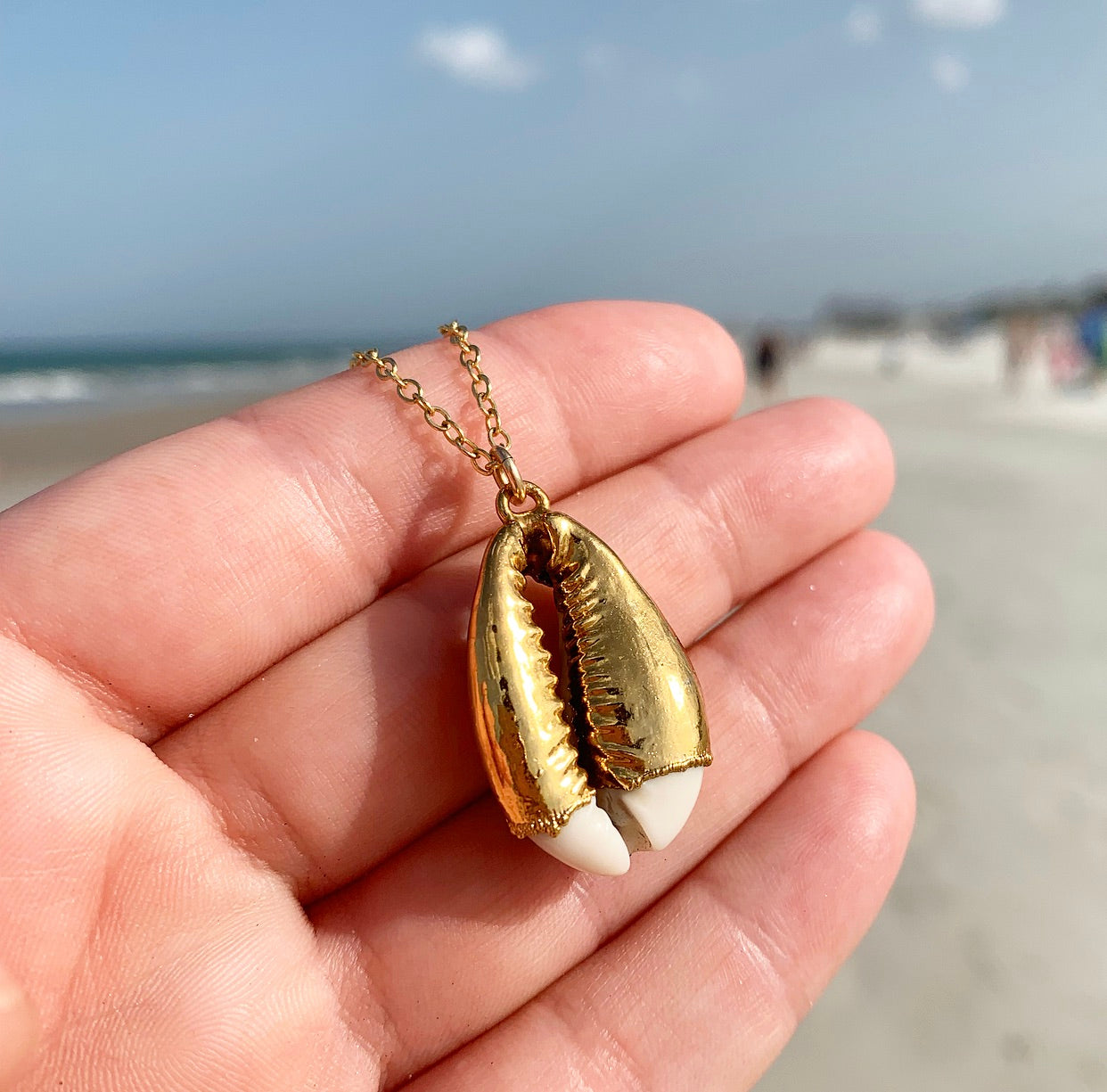 804-Cowrie Shell Necklace