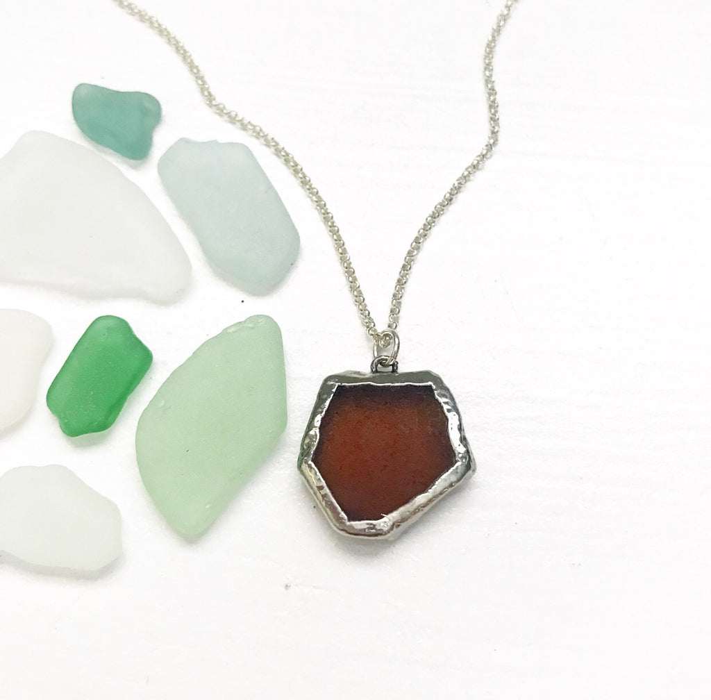 544-Seaglass Necklace