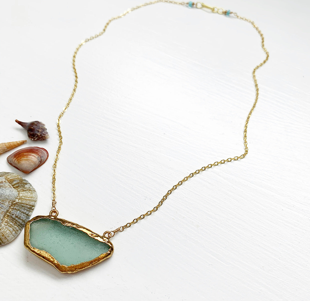 896-Seaglass Necklace