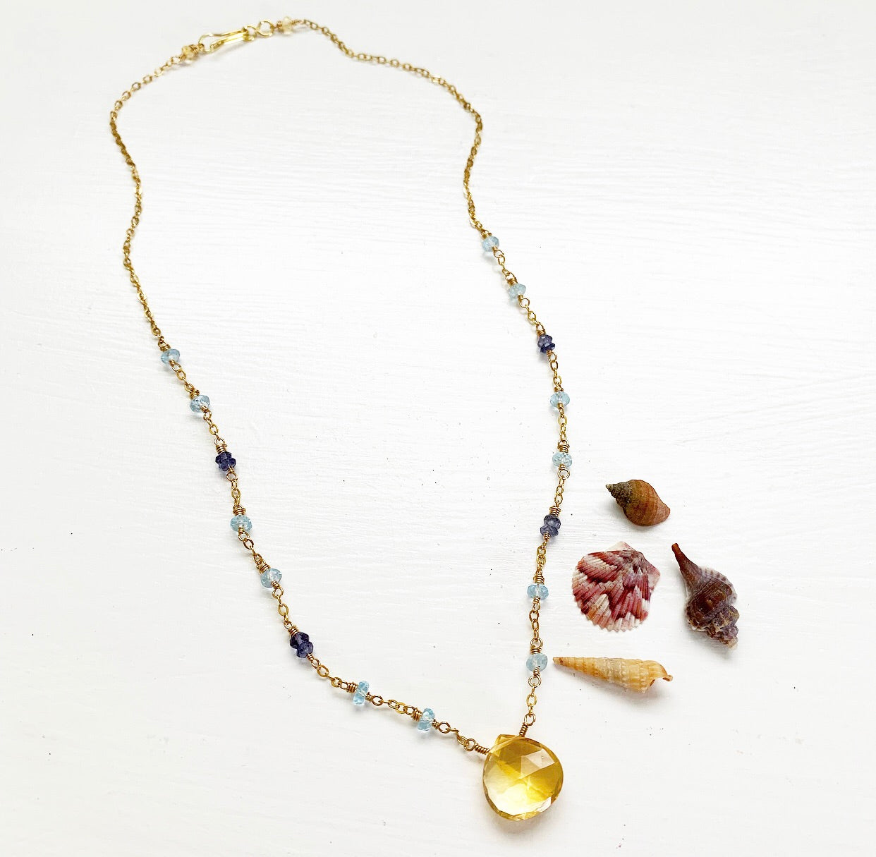 829-Gemstone Layering Necklace