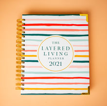Load image into Gallery viewer, The Layered Living Planner 2021