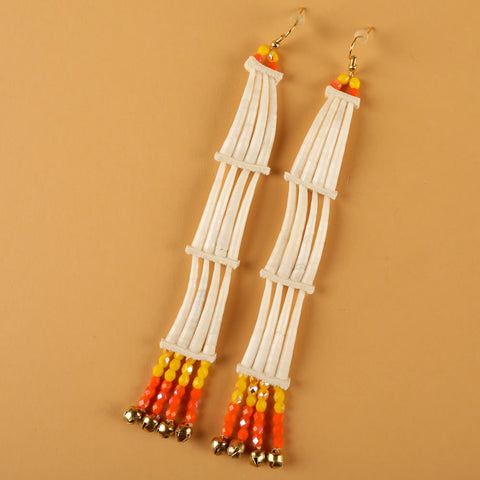 Dentalium Earrings