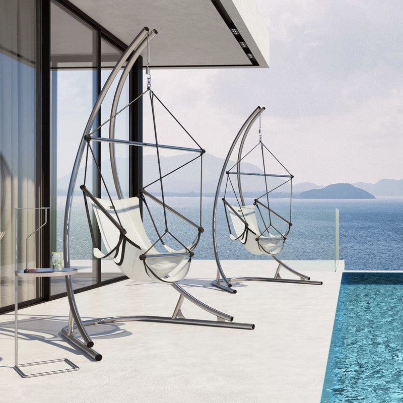 Hanging chair frame SOLA stainless steel