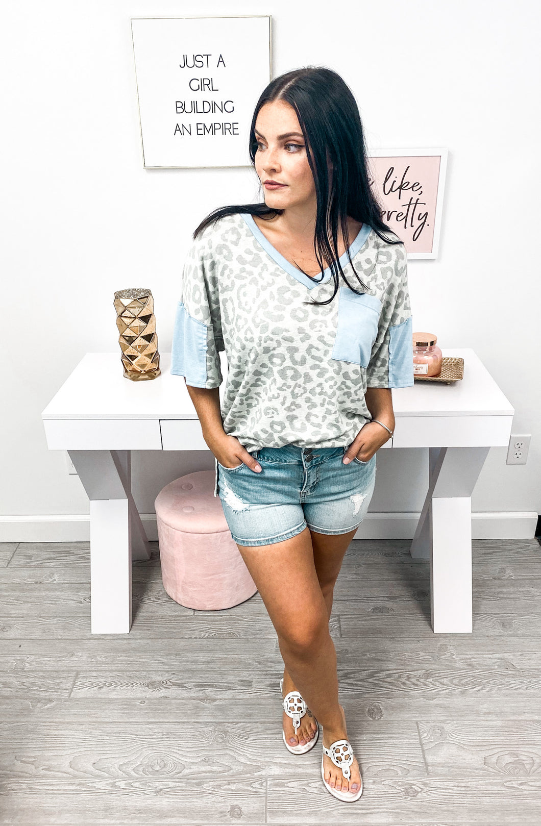 The Cutest Pocket Tee Top