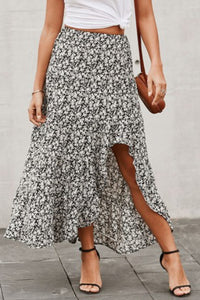 Summer Women Traveller Print Skirt