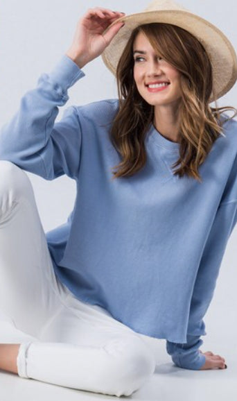 CASUAL LONG SLEEVE THERMAL TOP