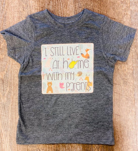 Live at home children's tee