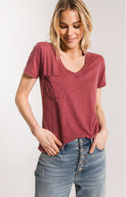 Load image into Gallery viewer, THE AIRY SLUB POCKET TEE
