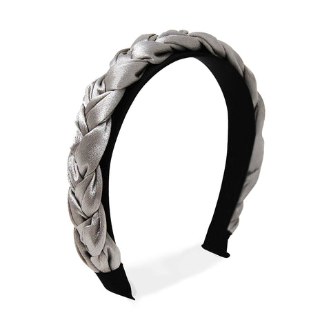 silver-headband-satin-thick-braided-johnny-loves-rosie-accessories