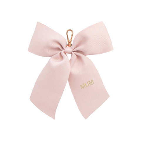 rose-gold-bow-keyring-eloise-grosgrain-ribbon-johnny-loves-rosie-accessories
