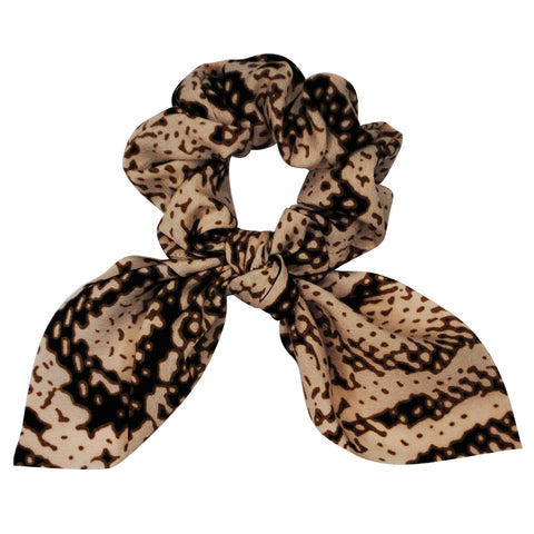 cream-scrunchie-hair-accessory-snake-print-bow-tie-darcey-johnny-loves-rosie-accessories