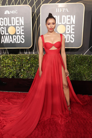 kat-graham-golden-globes-fashion-red-carpet-award-show-2020