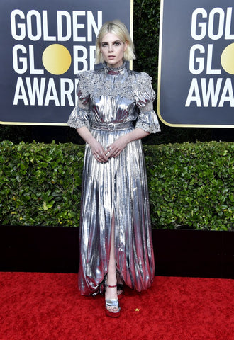 lucy-boynton-golden-globes-red-carpet-fashion-awards-show-2020