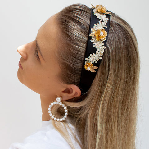 black-headband-floral-embellished-johnny-loves-rosie-accessories