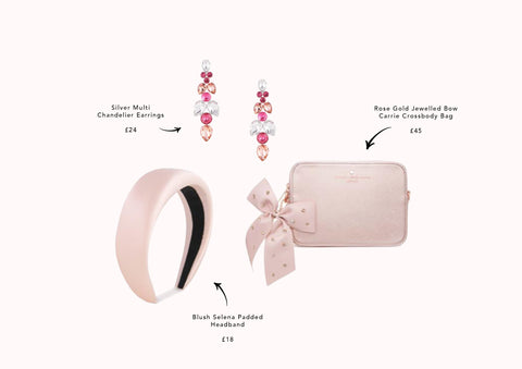 pink-blush-bag-pouch-bow-gem-earrings-headband-johnny-loves-rosie