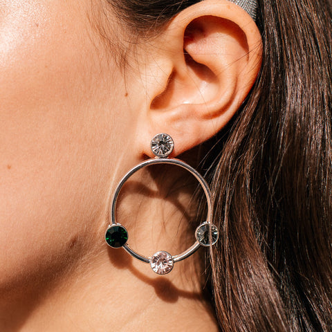 silver-hoop-earrings-gems-diamantes-remi-johnny-loves-rosie-accessories