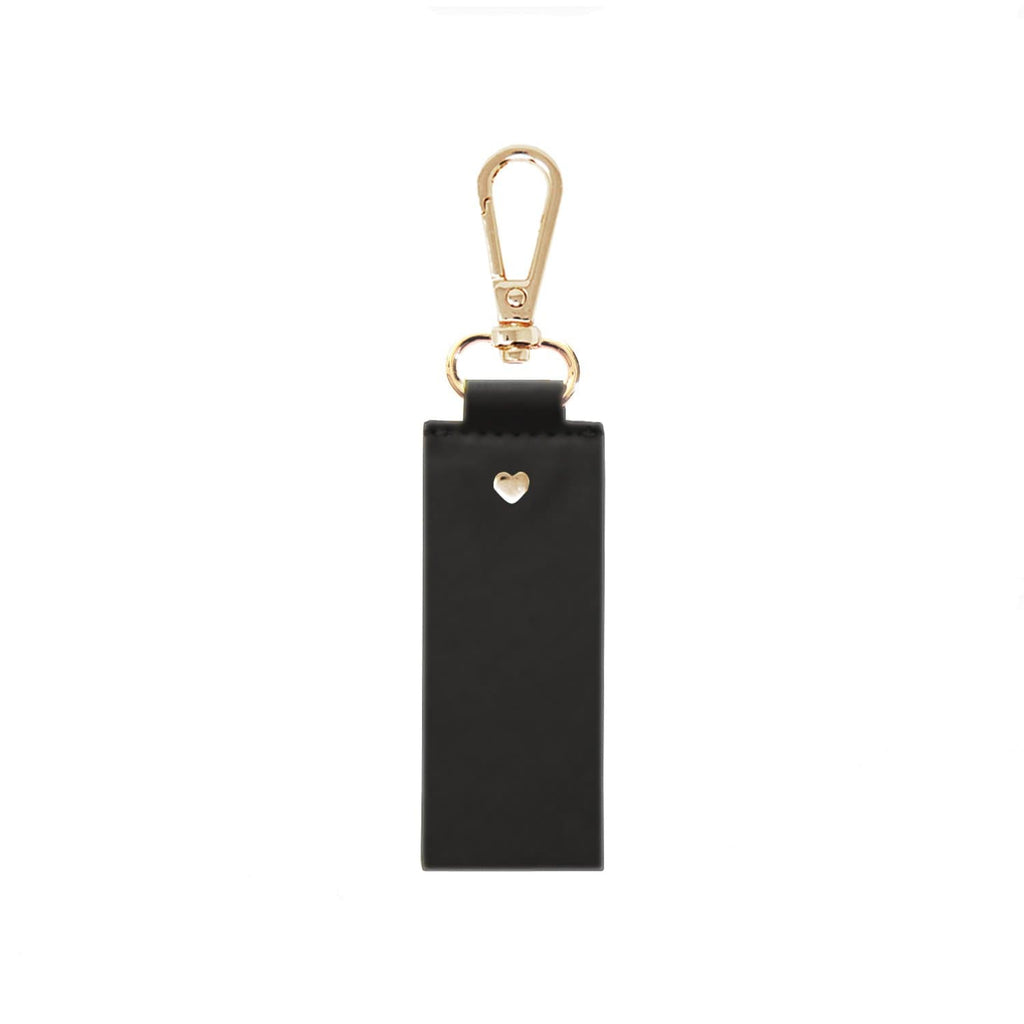 black-keyring-soft-vegan-leather-straight-archie-johnny-loves-rosie-accessories