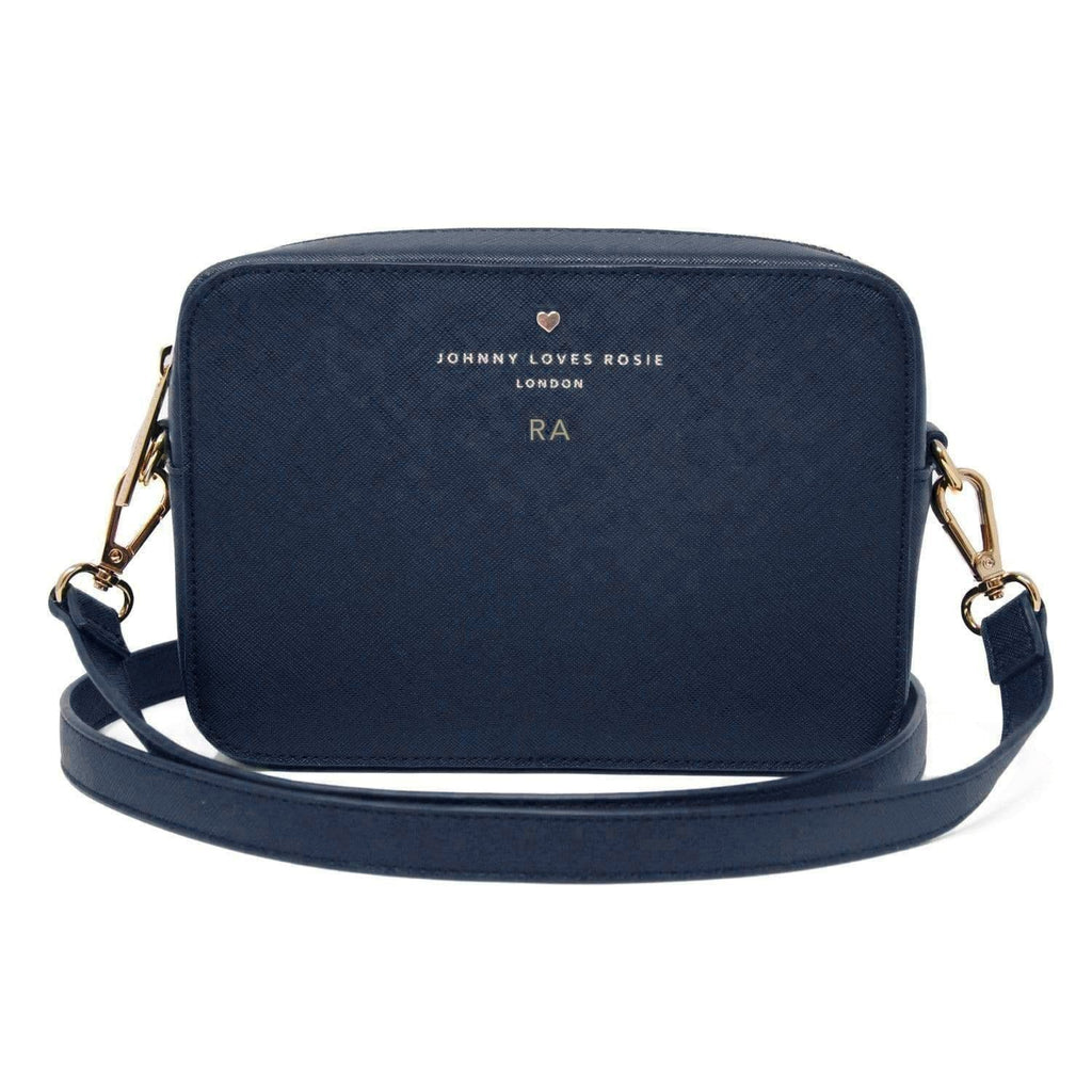Navy Carrie Crossbody Bag