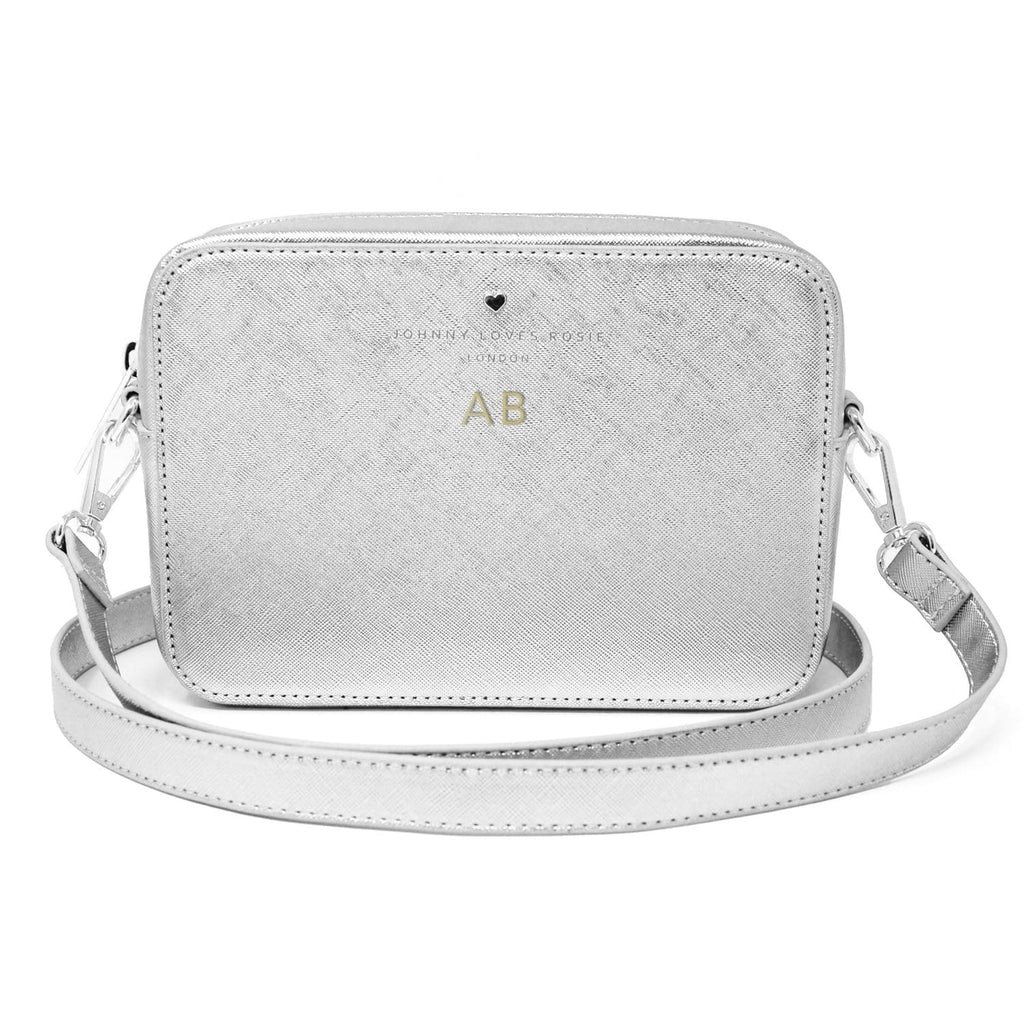 silver-crossbody-bag-embossed-initials-gold-tote-bow-vegan-leather-carrie-johnny-loves-rosie-accessories