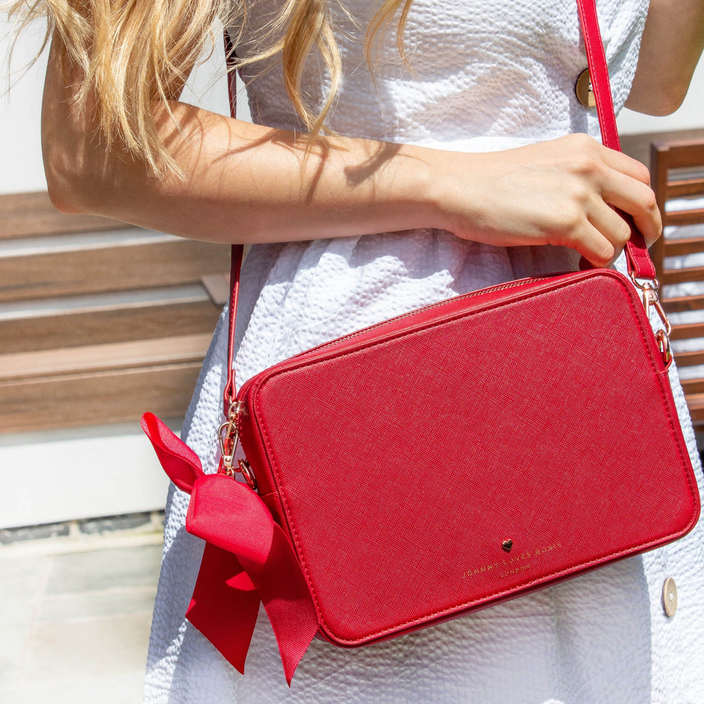 red-large-beatrice-crossbody-bag-tote-long-strap-bow-johnny-loves-rosie-accessories