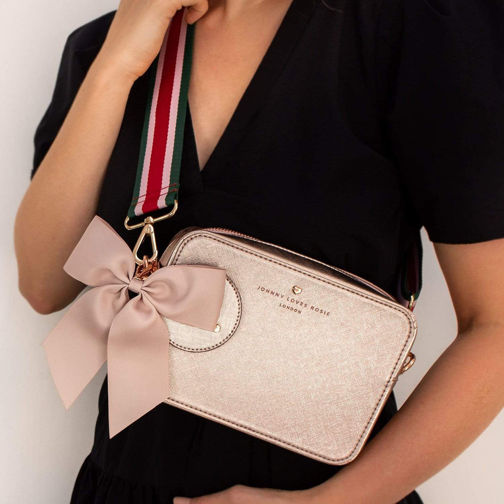 Rose Gold Carrie Bag Set